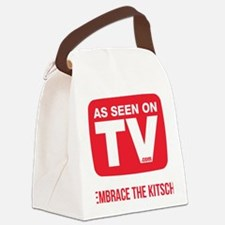 Embrace The Kitsch Version 2 Canvas Lunch Bag
