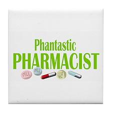 PHANTASTIC PHARMACIST Tile Coaster
