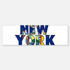 New York Bumper Bumper Bumper Sticker