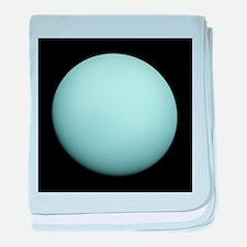 Uranus baby blanket
