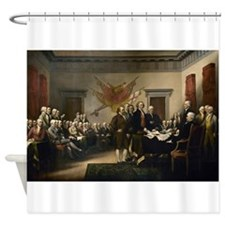 Declaration Independence Shower Curtain
