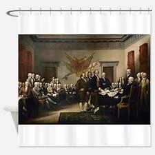 Declaration Independence Shower Curtain