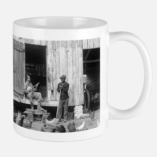 Barnyard Banjo Player Mugs