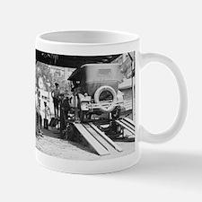 Automobile Service Station Mugs