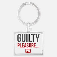 Guilty Pleasure Version 1 Landscape Keychain