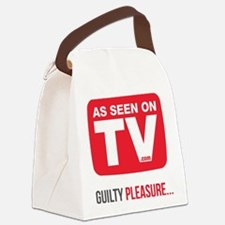 Guilty Pleasure Version 2 Canvas Lunch Bag