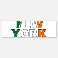 New York - Ireland Bumper Bumper Bumper Sticker