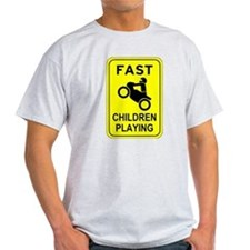 Fast Children Playing T-Shirt