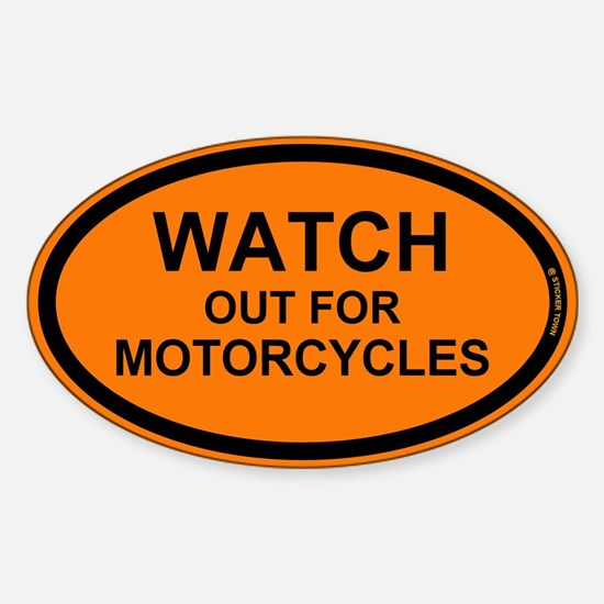 Watch Out For Motorcycles Bumper Stickers