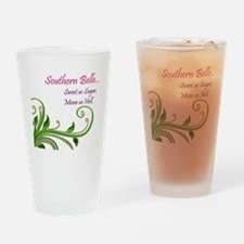Southern Belle Drinking Glass