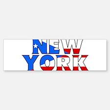New York - Puerto Rico Bumper Bumper Bumper Sticker