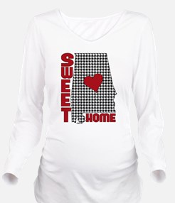 Sweet Home Alabama Long Sleeve Maternity T-Shirt