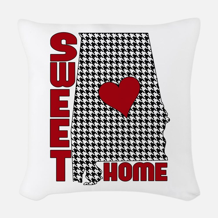 Sweet Home Alabama Woven Throw Pillow
