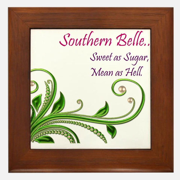 Cute Southern Framed Tile