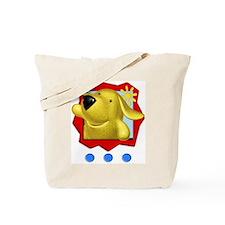 Pocket Pup Tote Bag