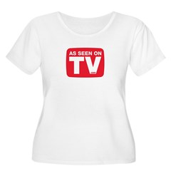 As Seen On TV Logo Plus Size T-Shirt