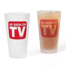 As Seen On TV Logo Drinking Glass