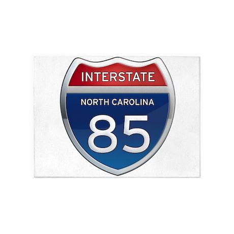 NC Interstate 85 5'x7'Area Rug