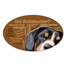 Got Entlebucher? Woof Cloud Decal