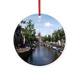 Amsterdam Round Ornaments