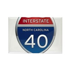 NC Interstate 40 Magnets