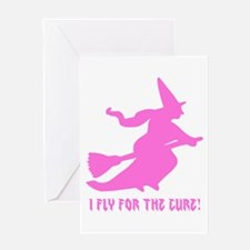 Fly for the Cure Greeting Cards