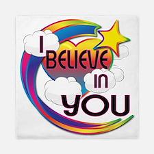 I Believe In You Cute Believer Design Queen Duvet