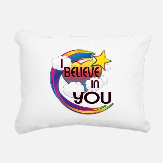 I Believe In You Cute Believer Design Rectangular