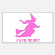 Fly for the Cure Decal