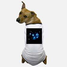 Pleiades Blue Star Cluster Dog T-Shirt