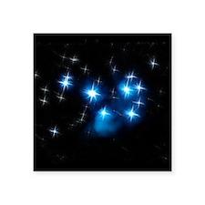 Pleiades Blue Star Cluster Sticker