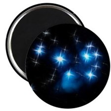 Pleiades Blue Star Cluster Magnets