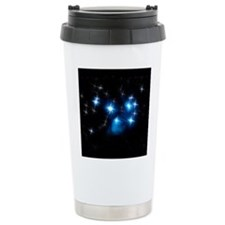 Pleiades Blue Star Cluster Travel Mug