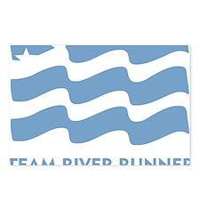 TRR logo lt blue Postcards (Package of 8)