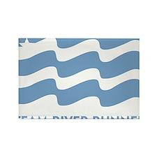 TRR logo lt blue Rectangle Magnet