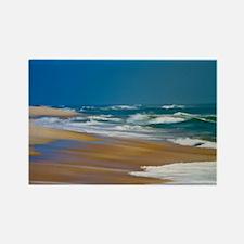 Cape Hatteras Ocean Blur Rectangle Magnet