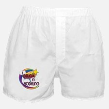 I Believe In Yodeling Cute Believer Design Boxer S