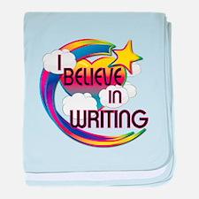 I Believe In Writing Cute Believer Design baby bla