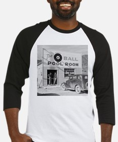 The Eight Ball Pool Room Baseball Jersey