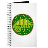 Wall clock Journals & Spiral Notebooks