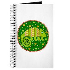 Colorful Chameleon Journal