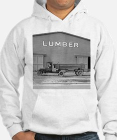 Early Ford Tractor Trailer Hoodie