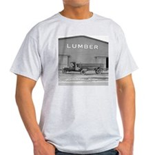 Early Ford Tractor Trailer T-Shirt