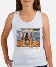 Halloween Dachshunds Tank Top