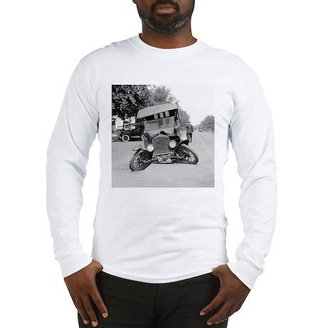 Crashed Ford Model T Long Sleeve T-Shirt