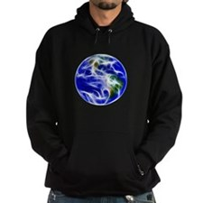 Planet Earth World Globe Hoodie