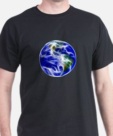 Planet Earth World Globe T-Shirt