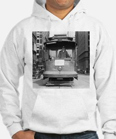 Brooklyn Bridge Trolley Hoodie