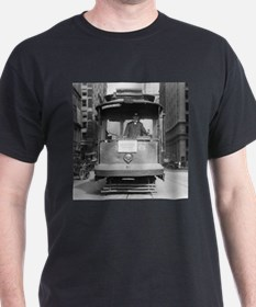 Brooklyn Bridge Trolley T-Shirt
