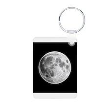 Full Moon Lunar Globe Keychains